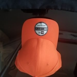New Era 39thirty orange flex fitted  S/M or M/L